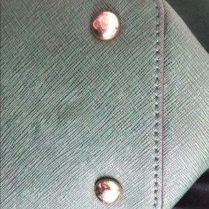 Michael Kors Bags - Green and Gold Michael Kors Purse